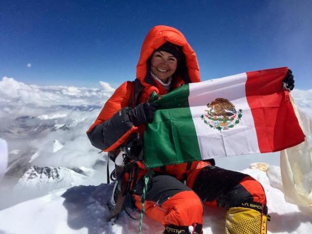 Viridiana Álvarez, la primera mujer en subir las 4 montañas más altas del mundo es mexicana