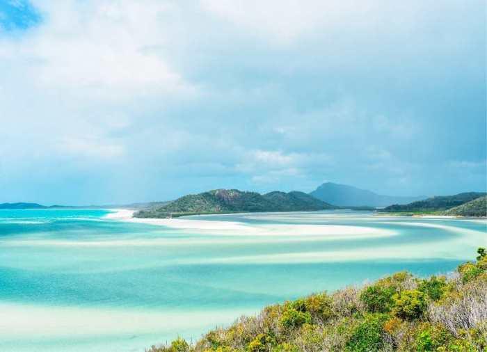 Whitsunday Islands son el corazón de la Gran Barrera de Coral en la costa de Queensland, Australia.