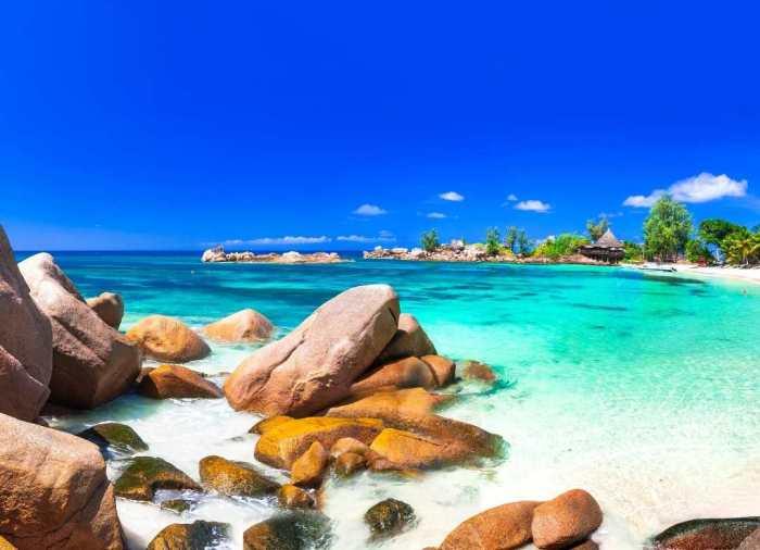 La isla paradisiaca de Seychelles, situada en África, es un archipiélago de 115 islas ubicado en el Océano índico frente a África Oriental.