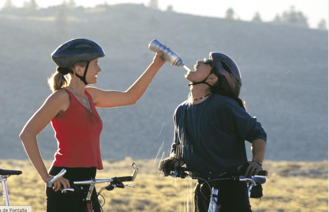 hidratación jóvenes