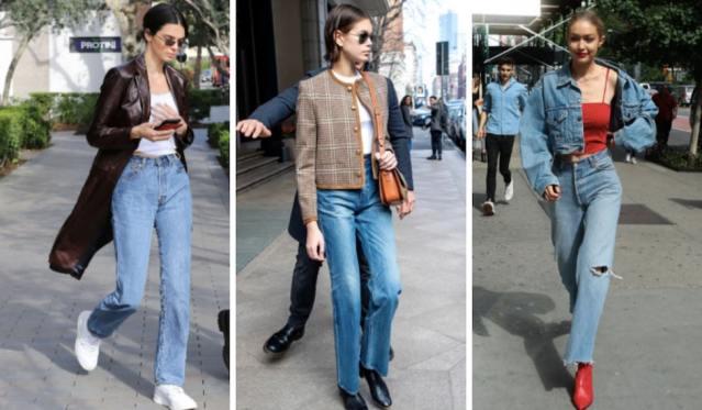 Jeans rectos: la tendencia de moda que veremos durante el 2021