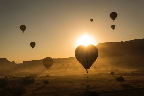6 Destinos para volar en globo aerostatico en México