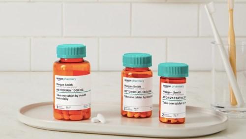 Amazon lanza su servicio de farmacia online