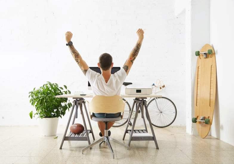 5 Consejos ergonómicos para que tu home office sea más eficiente y cómodo