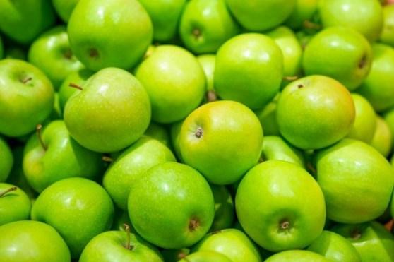 Granny Smith, una manzana verde rica en antioxidantes que protegen tu piel