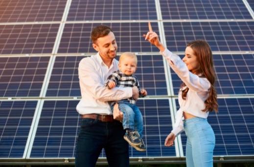 El uso de energía solar promueve el cuidado de la salud, al no contaminar el aire.