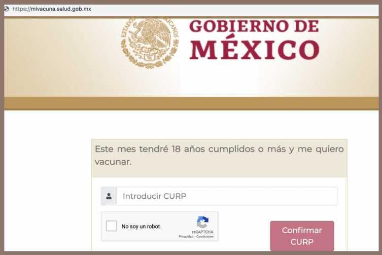 Cuando llegue el momento de registrarte para tramitar tu Certificado de Vacunación COVID, ingresa a: mivacuna.salud.gob.mx