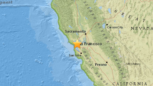 Moderate 4.0 Temblor Gets California Bay Area Shaking On Monday Morning