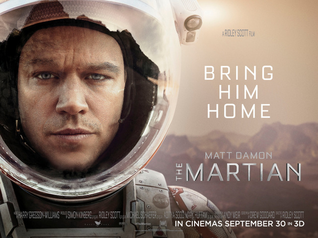 The Martian Review: Lost in Space ~ By Brett Bunge