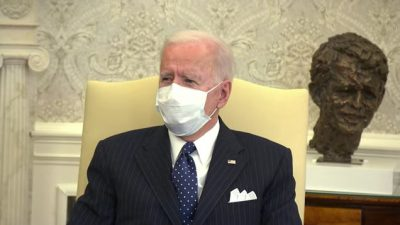 President Biden Before a Business Leaders Meeting on the American Rescue Plan