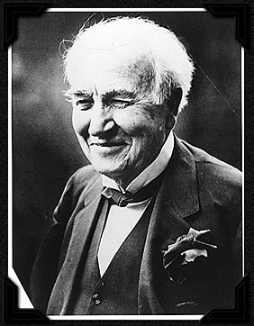 Thomas Edison at 80, in 1927