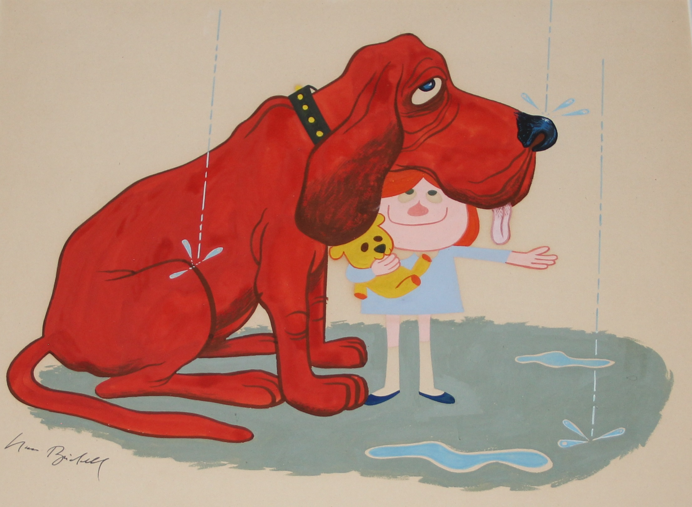 Clifford The Big Red Dog At The Smithsonian