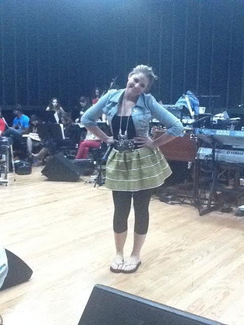 American Idol finale rehearsal 03