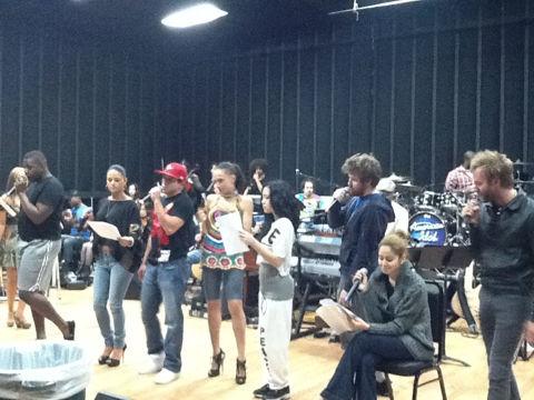 American Idol finale rehearsal 04
