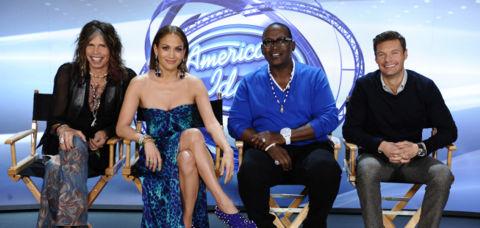 American Idol judges 2012
