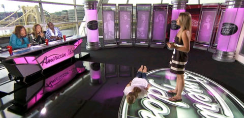 American Idol Pittsburgh auditions - The Planker