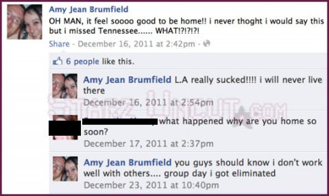 Amy Brumfield on Facebook