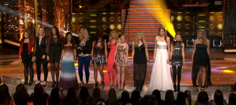 American Idol 2012 Top 12 Girls