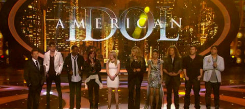 American Idol 2012 Top 9 performance show