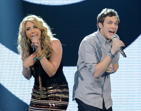 American Idol 2012 Elise and Phillip duet