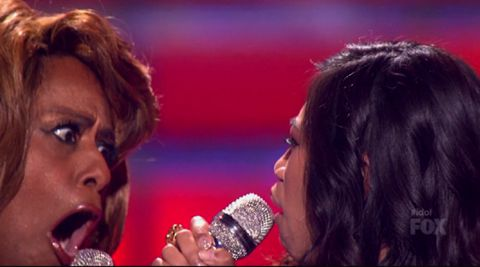American Idol 2012 finale performance: Jennifer Holliday and Jessica Sanchez