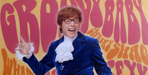 Austin Powers night on Idol