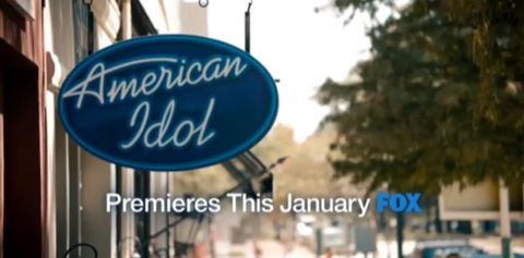 January 2013 premiere of American Idol