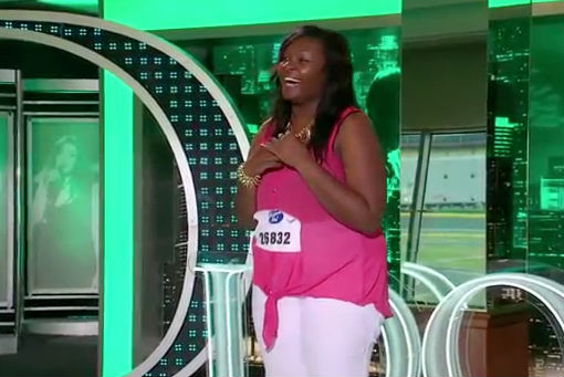 Candice Glover audition