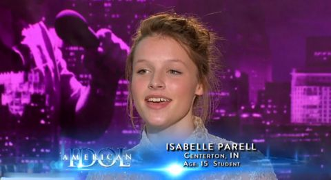 Isabelle Parell audition on American Idol 2013
