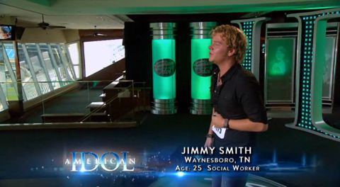 Jimmy Smith audition on American Idol