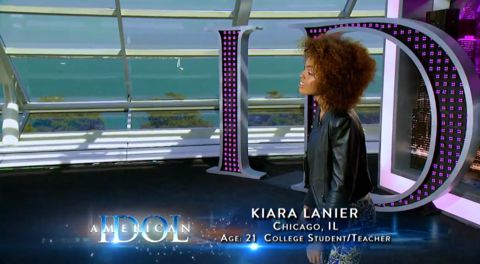 Kiara Lanier auditions on American Idol