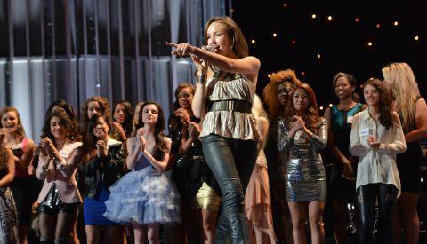 Girls Week In Hollywood on American Idol 2013