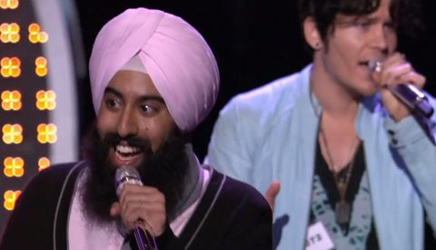 Gurpreet Sarin performs on American Idol 2013