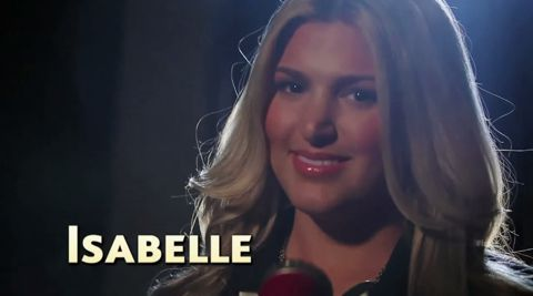 Isabelle performs on American Idol 2013