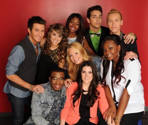 American Idol 2013 Top 9