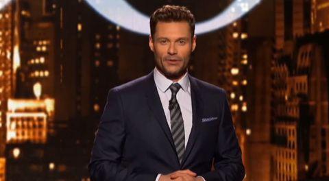 American Idol host Ryan Seacrest