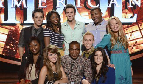 American Idol 2013 Top 10 finalists