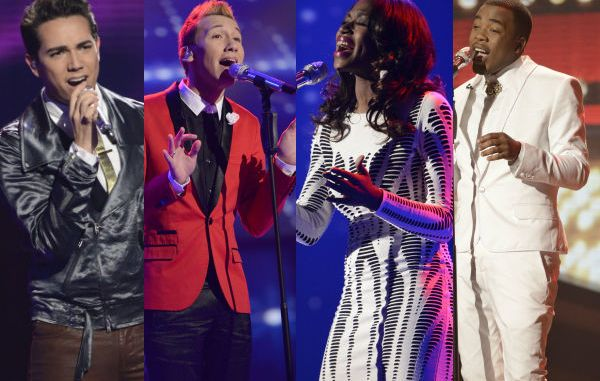 American Idol 2013 Top 8 results