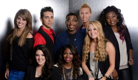 The Top 8 on American Idol