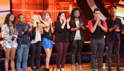 Top 8 on American Idol