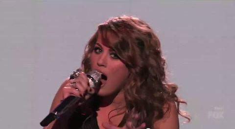 Angie Miller performs on American Idol 2013