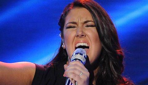 Kree Harrison on American Idol 2013