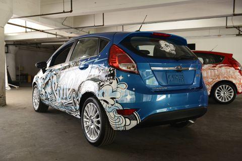 American Idol Ford Fiesta 2014