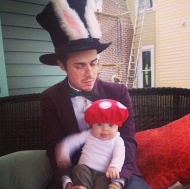 Kris Allen and Baby
