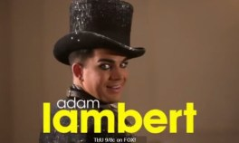 Adam Lambert on Glee 3