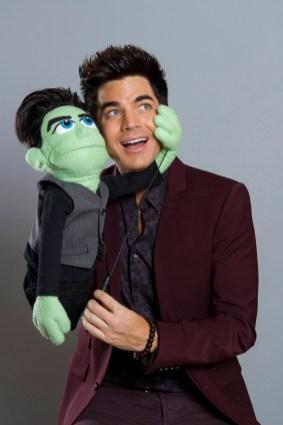 Glee Adam Lambert Puppet Master