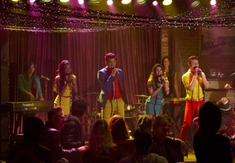 Kurt's band performs on Glee - Source: FOX