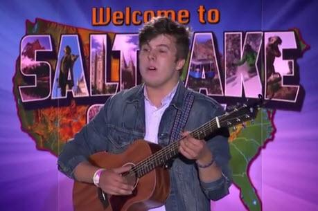 Alex Preston American Idol 2014 Audition