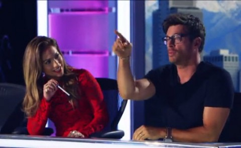 American Idol Judges Harry Connick Jr. and Jennifer Lopez - Source: FOX/YouTube