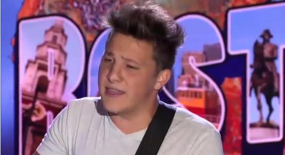 Keith London American Idol 2014 Audition - Source: FOX/YouTube